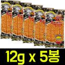 (무배)벤토 핫징어 매운맛 12gx 5개 피쉬스낵/쥐포
