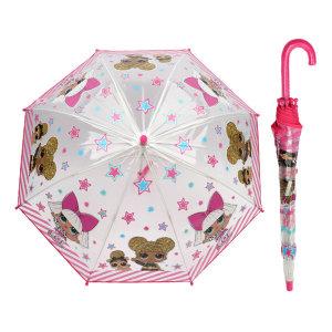 엘오엘 별 50 비닐 장우산 (자동우산) 아동 초등학생