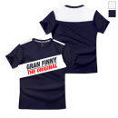 그랜피니 쿨숄더배색 아이스 반팔 티셔츠 NCB