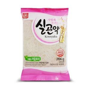 한성 실곤약 200gX20봉/저칼로리/국수/면/쌀/곤약