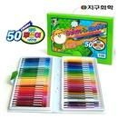 지구화학 투명이 50색 색연필