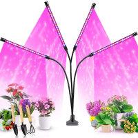 실내 재배 식물 성장등 생장등 조명 LED등 4헤드