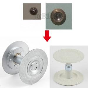 디지털도어락 현관 외시경 보강판 구멍마개 구멍막음