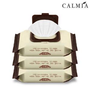 CALMIA 오트밀 테라피 클렌징티슈120매(520g) 3개+핸드