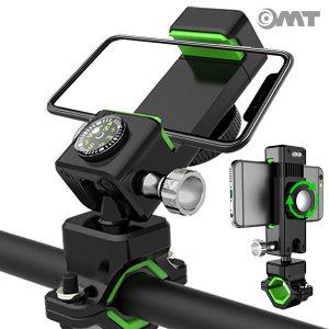 OMT 강력 자전거 바이크 휴대폰 거치대 OSA-Q3 그린