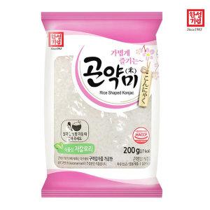 곤약 저칼로리 곤약쌀 곤약밥 곤약미 200g