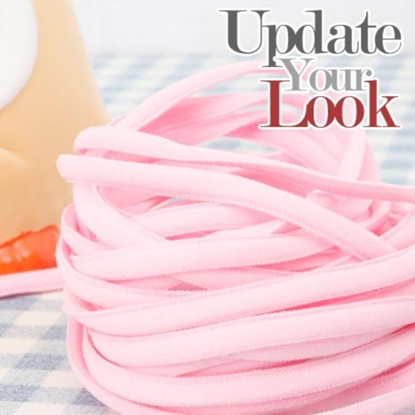 마스크끈 핑크 (1마 90cm)