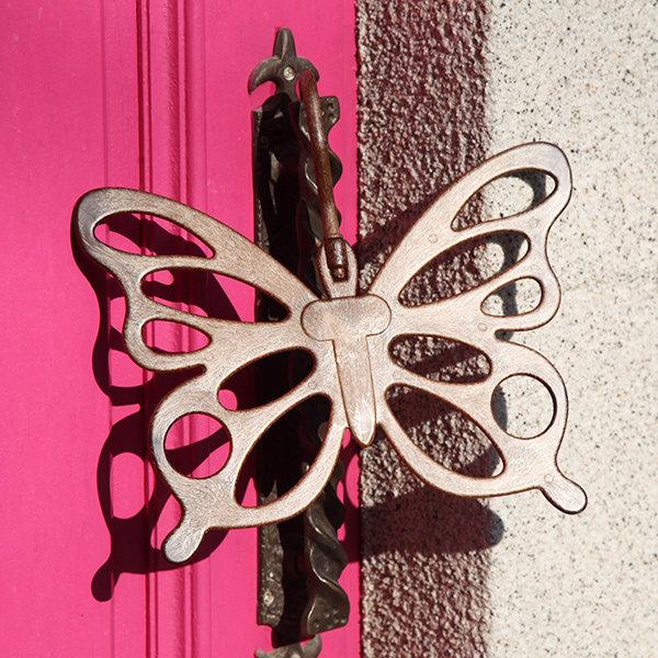 나비모양 스카프 목도리 머플러 걸이 디피 의류 소품