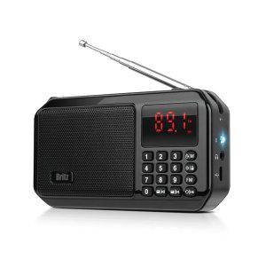 BZ-LV980 FM라디오 MP3 블루투스스피커 블랙 사은품