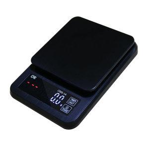 커피저울 CMS-1A 디지털 타이머 주방저울 1kg/0.1g