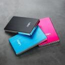 외장하드 L2SU3.0 500GB(레드) USB3.0 초슬림 알루미늄