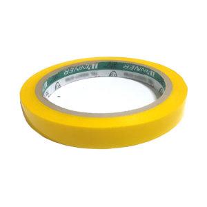 비닐 야채 채소 봉합기 전용테이프 노란색 폭12mm