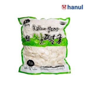 한울종합식품 쌀떡국 3kg 1박스(5개)