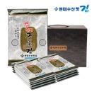 현대수산맛김 보령대천김 살짝 구운 김 10봉
