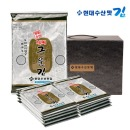 현대수산맛김 살짝 구운 김 10봉 x 3개(총 30봉)