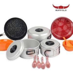 버팔로 코펠 연질 5-6인용/식기세트 캠핑용품