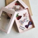 여자아이선물 생일선물 헤어셋트 6종셋트 귀여운체리