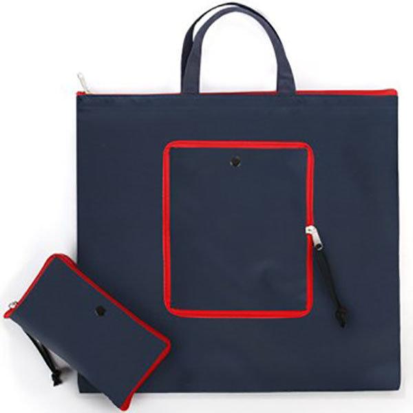 적색지퍼고리장바구니 시장가방 판촉도매 인쇄1784660