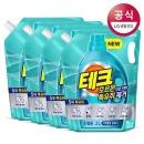 테크 호르몬특유취 액체세제 드럼리필 2L 4개