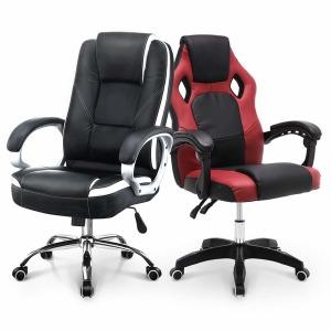 의자 컴퓨터 사무용 PC방 게이밍 책상 학생 중역 게임