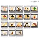 노미네이션  컴포저블 클래식 EARTH ANIMALS 에나멜 18K 골드 링크 03021