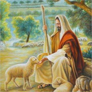 3D 예수님은 나의목자(40x55cm) 보석십자수 보석십자