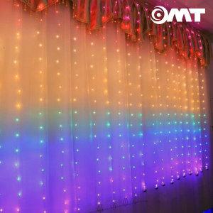 레인보우 LED 전구 210개 파티 행사 조명 OL-RAINBOW