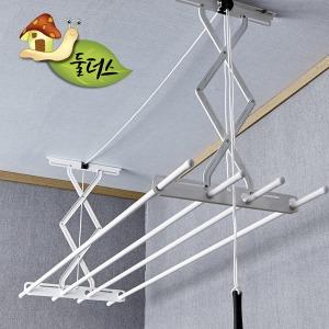 국산 베란다 천장 빨래건조대 표준형 3단 높이100cm