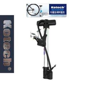 코텍3921 다용도펌프 던롭 슈레더 프레스타 자전거펌
