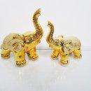 미니황금코끼리2p세트  장식소품 꾸미기 개업선물
