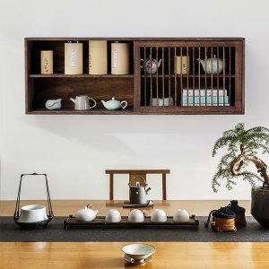 옛날 찬장 벽걸이 원목 찻장 cupboard 인테리어 컵 장