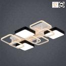 LED등 방등 거실등180W 스페이스 직사각 2단 9등