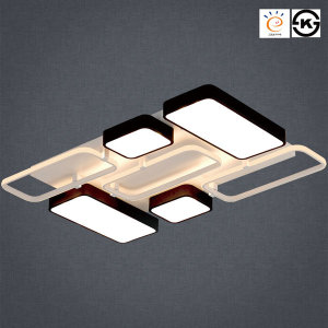 LED거실등180W 스페이스 직사각 7등 KS인증 삼성 LG칩