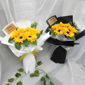 해바라기 꽃다발 재롱잔치 졸업식 입학식 선물