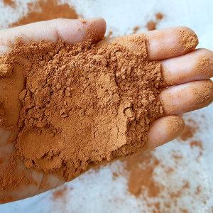 황토 가루 1kg 흙 모래 분말 촉감 오감 염색 놀이