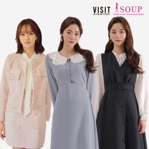 SOUP 봄 신상 업데이트 트렌치코트/원피스