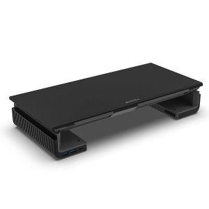 AP-2002 M-DESK USB 3.0 모니터받침대 (블랙)