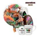 멘토스초코 100입(420g) 2개+한국도자기머그컵