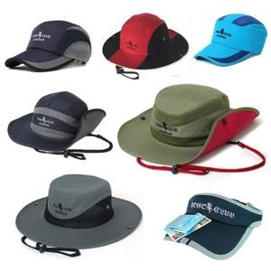 등산 모자 사파리 선캡 벙거지 단체 행사 캠핑 겨울