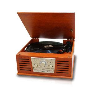 HR-TS100 올인원오디오 LP턴테이블 블루투스 CD라디오