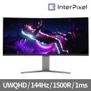 모니터 IPU3431 게이밍 무결점/UWQHD/144Hz/1500R/PVA