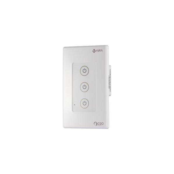 C2O WiFi 스마트 전등 스위치(3구)