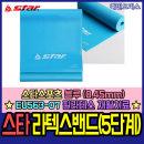 라텍스밴드 0.45mm 블루 (5단계) 스트레칭 필라테스