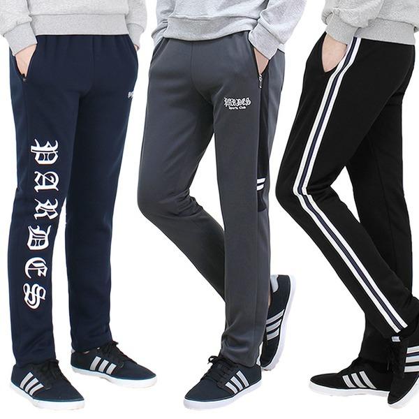 겨울 남자 기모 트레이닝바지 남성 츄리닝바지 운동복