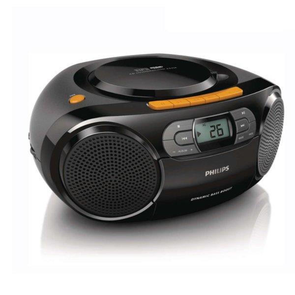 정품필립스 AZ388 포터블오디오 카세트 라디오 CD USB