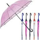 55-10K투명엠보(입체형)장우산/투명우산/투명비닐우산