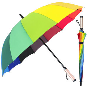 60-14K 무지개 장우산/레인보우우산/무지개우산/우산