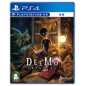 PS4 디모 리본 특별판 / DEEMO Reborn /한글판/새상품