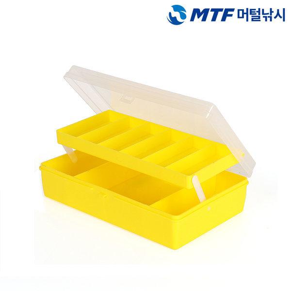 MTF 2단 다용도 루어 소품 태클박스 케이스 ZY-013