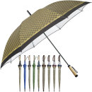70-8K 장우산실버(체크)/체크우산/체크무늬우산/우산
